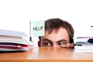 Businessman looking for solutions (image from Bigstock)